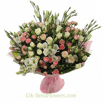 Buy Bouquet Spring charm cheap with delivery to Kiev and Ukraine