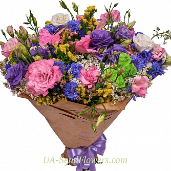 Buy Bouquet of flowers 9 rose love cheap with delivery to Kiev and Ukraine