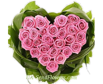 Buy Flower arrangement Pink tenderness cheap with delivery to Kiev and Ukraine