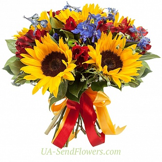 Buy Bouquet of flowers Hutoryanochka cheap with delivery to Kiev and Ukraine