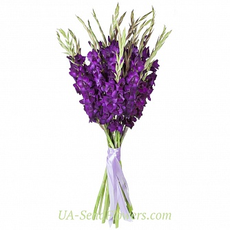 Buy Bouquet of flowers Blue mist cheap with delivery to Kiev and Ukraine
