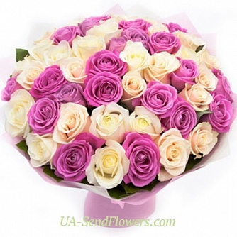 Buy Bouquet Tenderness cheap with delivery to Kiev and Ukraine