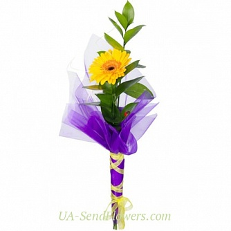 Buy Bouquet The first ray of cheap with delivery to Kiev and Ukraine
