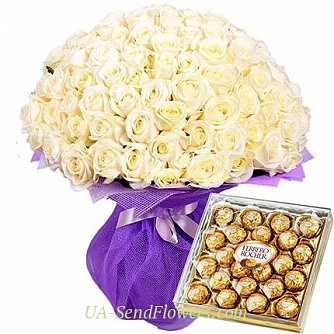Buy Bouquet Feeling of happiness cheap with delivery to Kiev and Ukraine