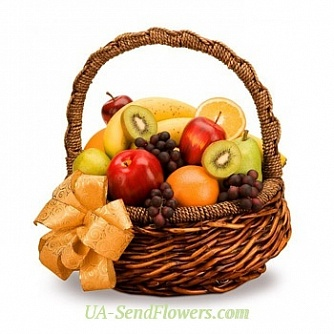Buy Fruit basket Holiday cheap with delivery to Kiev and Ukraine