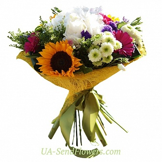 Buy Bouquet Easy cheap with delivery to Kiev and Ukraine