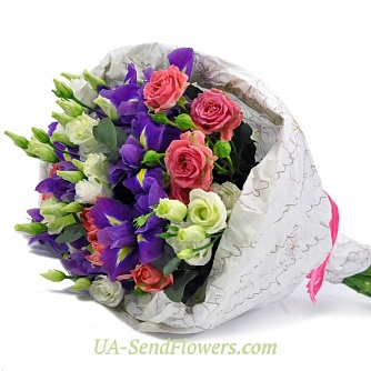 Buy Bouquet Inspiration cheap with delivery to Kiev and Ukraine