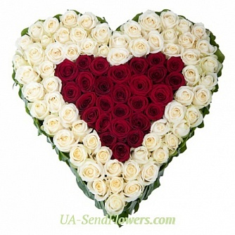 Buy Flower arrangement you and I cheap with delivery to Kiev and Ukraine