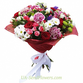 Buy Bouquet Elegant accent cheap with delivery to Kiev and Ukraine