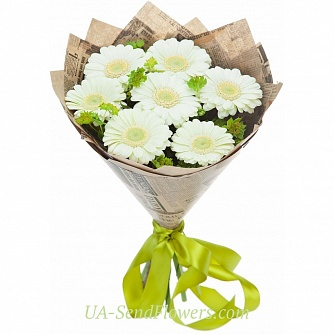 Buy Holiday Bouquet cheap with delivery to Kiev and Ukraine