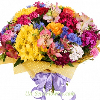 Buy Bouquet Exotic party cheap with delivery to Kiev and Ukraine