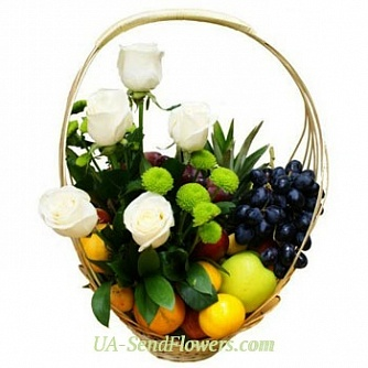 Buy Fruit basket Expression cheap with delivery to Kiev and Ukraine
