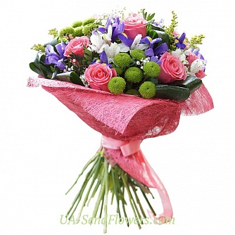 Buy Bouquet The charming elegance cheap with delivery to Kiev and Ukraine