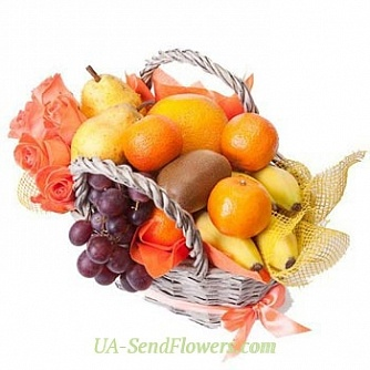 Buy Fruit basket Rendezvous cheap with delivery to Kiev and Ukraine