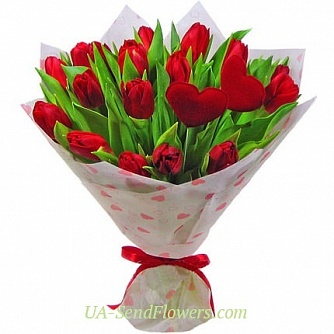 Buy Bouquet Romance cheap with delivery to Kiev and Ukraine