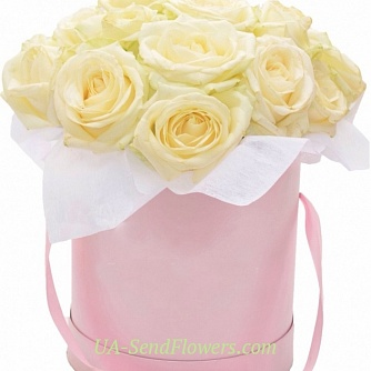Buy Flowers in a box You are my angel cheap with delivery to Kiev and Ukraine