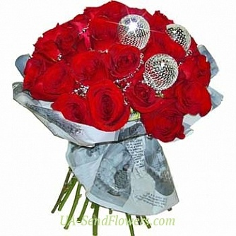 Buy Bouquet New year's party cheap with delivery to Kiev and Ukraine