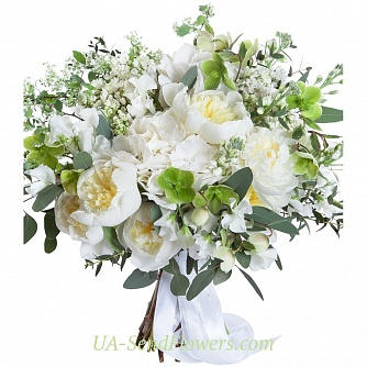 Buy Bouquet Extraordinary elegance cheap with delivery to Kiev and Ukraine