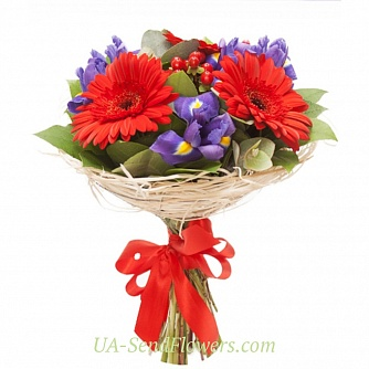Buy Bouquet Temperamental cheap with delivery to Kiev and Ukraine