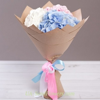 Buy Bouquet Ice cream cheap with delivery to Kiev and Ukraine