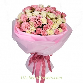 Buy Bouquet of flowers Love cheap with delivery to Kiev and Ukraine