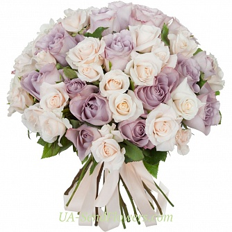Buy Bouquet of Silk flowers cheap with delivery to Kiev and Ukraine