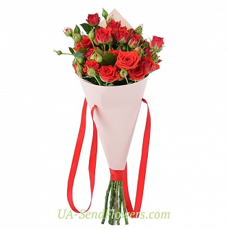 Buy Bouquet Sparkle cheap with delivery to Kiev and Ukraine