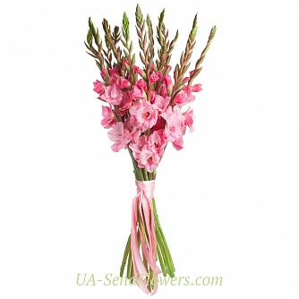Buy Bouquet of flowers Pink Flamingo cheap with delivery to Kiev and Ukraine