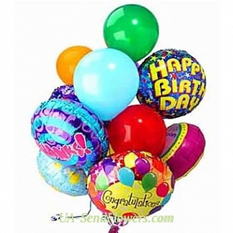 Buy Balloons Bright moment cheap with delivery to Kiev and Ukraine
