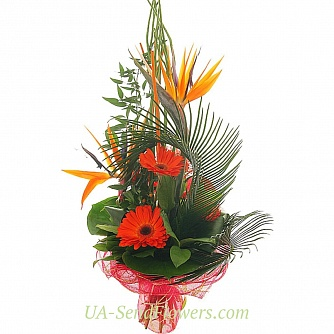 Buy Bouquet Duke cheap with delivery to Kiev and Ukraine