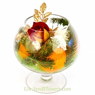 Buy Composition Vase gifts cheap with delivery to Kiev and Ukraine