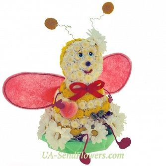 Buy Toy flower Bee Maya cheap with delivery to Kiev and Ukraine