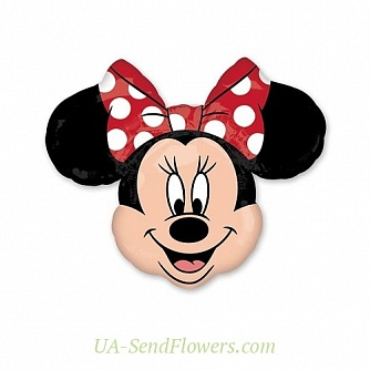 Buy Balloon Minnie Mouse cheap with delivery to Kiev and Ukraine