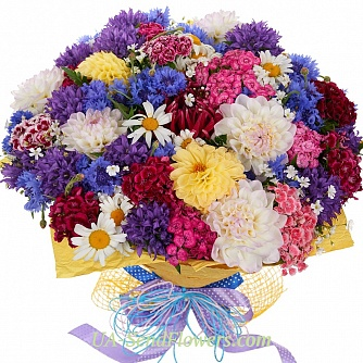 Buy Bouquet Flight of fancy cheap with delivery to Kiev and Ukraine