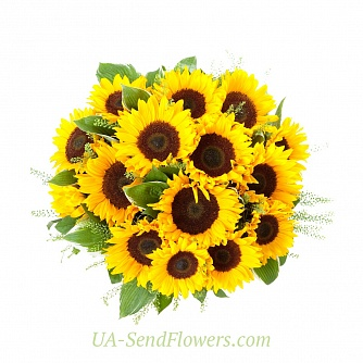 Buy Bouquet of flowers Solar joy cheap with delivery to Kiev and Ukraine