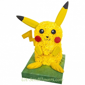 Buy Toy Flower Pikachu Pokemon Go cheap with delivery to Kiev and Ukraine