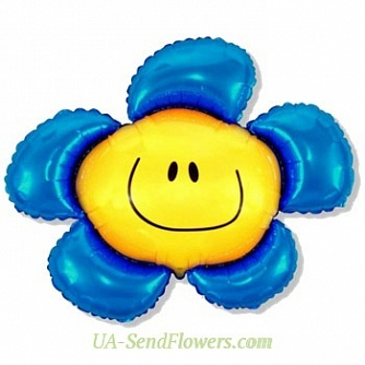 Buy Balloon Daisy cheap with delivery to Kiev and Ukraine
