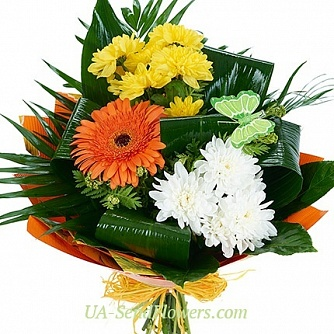 Buy Bouquet flowers Luck cheap with delivery to Kiev and Ukraine
