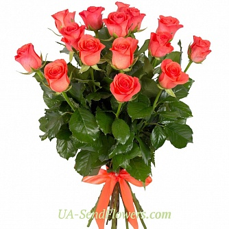 Buy Bouquet Passionate tango cheap with delivery to Kiev and Ukraine