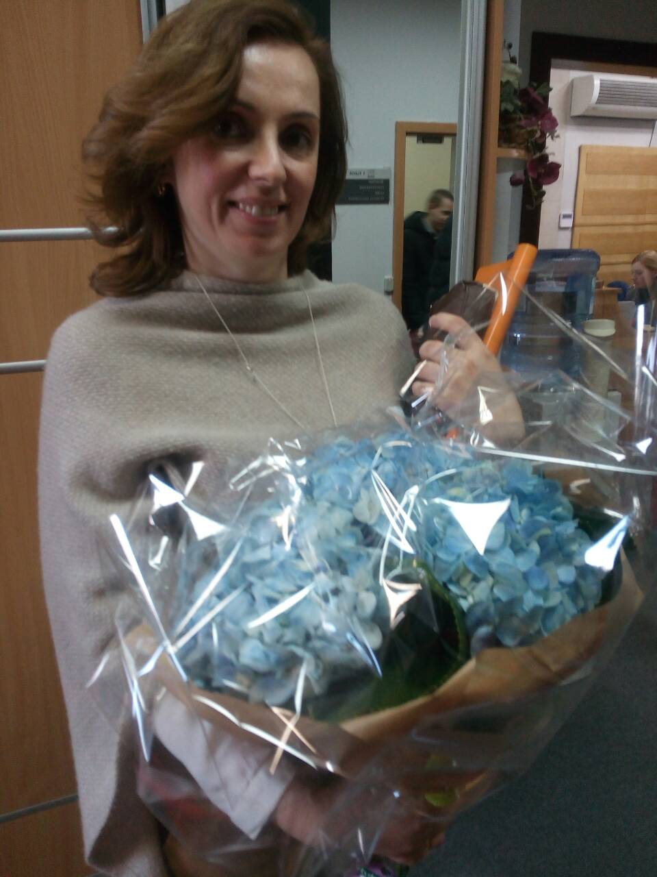 Buy Bouquet of blue hydrangeas, Kiev | UA-SendFlowers.com