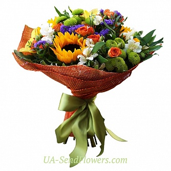 Buy Bouquet Spring luxury cheap with delivery to Kiev and Ukraine