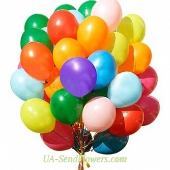 Buy Balloons Fireworks cheap with delivery to Kiev and Ukraine