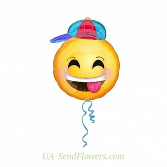 Buy Balloon Boy cheerful smile cheap with delivery to Kiev and Ukraine
