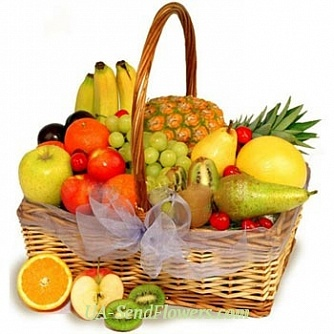 Buy Fruit basket Tropicana cheap with delivery to Kiev and Ukraine