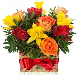 Buy Composition of Flowers feast of the soul cheap with delivery to Kiev and Ukraine