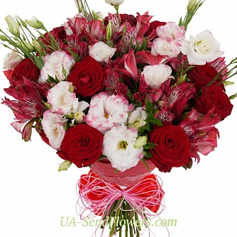 Buy Bouquet Velvet and chic cheap with delivery to Kiev and Ukraine