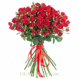 Buy Bouquet Carmen cheap with delivery to Kiev and Ukraine