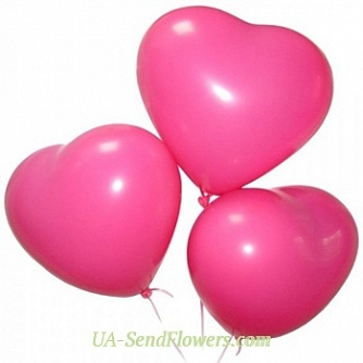 Buy Balloons Romantic cheap with delivery to Kiev and Ukraine
