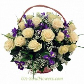 Basket of flowers Delight
