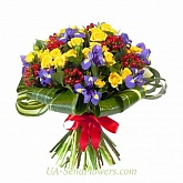 Bouquet of flowers Coloring